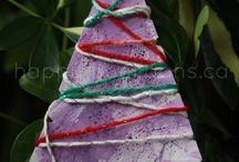 Vánoce / Tvorba a malování na téma Vánoce