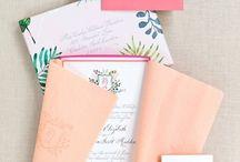 wedding invitations idea / Some of my favorite wedding invitations.