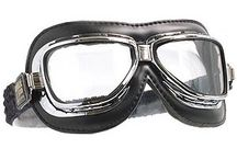 EYE-PODS / Motorcycle goggles and eye protection.