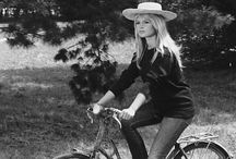 famous + bicycles + celebrities  / Celebrities, movie stars -- you know famous people riding bicycles.  #celebritiesonbicycles