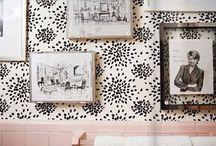 pink bathroom / by Deborah Vahle