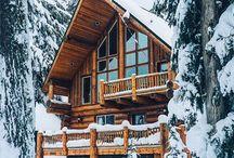 Vinter stuga