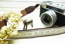 Lusikka leather camera strap / natural leather camera strap