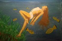 pinturas / pinturas a óleo ,acrílico, guache, aquarela