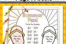 Primary Activities | Free Printables / A comprehensive collection of free printables geared towards teachers in the primary grade levels.