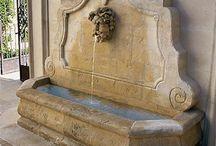 antique fountains