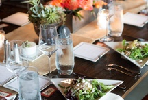 Table Top / Beautiful settings to enjoy scrumptious meals with friends and family.