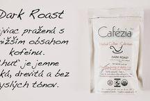 Druhy Cafézia kávy