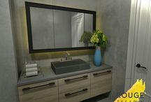 Villa tasarım / Genel banyo/wc
