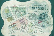 """Ilustraciones narrativas """"Els marrameus de carrer Verat Descarat"""""""