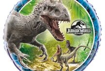 Jurassic World / Dinosaurs / The Park... Is Open. Loved loved loved Dinosaurs as a kid and it all started with that first classic movie. The latest installment has its own theme on our site, plus some classic Dino Decorations as well.