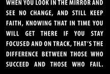 inspiration&motivation.  / by Kristen Knash