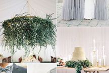 foliage wedding