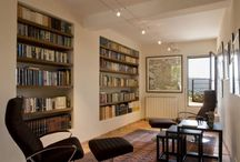 Home library / A few design ideas for those who want a home library