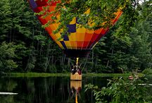 Hot Air. Balloons