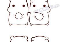 Kawaii logos
