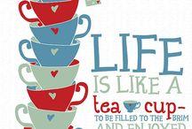 Teapography / Citations sur le thé