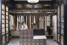 Interior Walk-in wardrobe