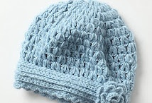 Crocheted Hat/Sweaters/Booties/Scarves Ideas / by Doris Andrews