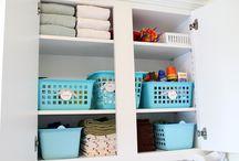 Laundry organising