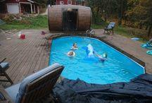 Barrel sauna / Barrel sauna