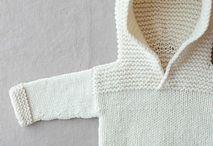 Tricot bébé / Baby knit / Tricot pour bébé et enfants
