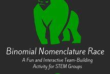 teaching binomial nomenclature