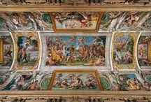 Iluzjonistyczne freski i ich poprzednicy