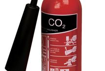 Fire Extinguisher - Co2 / These fire extinguishers use the quick and efficient flame knockdown property of co2 gas which makes these devices ideal for fighting against intense fires. The fires which involve flammable liquid for instance oil, paints, varnish, solvents and even industrial gases. The inert co2 gas present inside these extinguishers rapidly prevents the fires by diffusing the oxygen and extinguishes water by squeezing the lever.