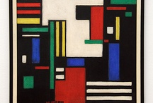de stijl paintings