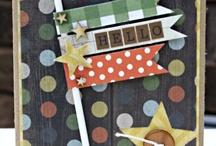 Scrapbook: Camping Inspiration / Camping scrapbook inspiration - favorite sets are Simple Stories Take a Hike and Bo Bunny Camps-a-lot