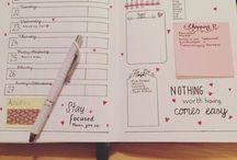 Inspiração Bullet Journal