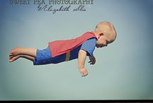 Superhero photo shoot / by Martha Cuello