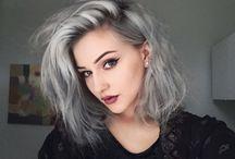 pent hår