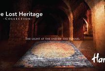The Lost Heritage Collection / Forgotten lands and far away times, lost and found in every warp and weft.