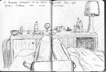 My sketchbook / sketchbook, liner, aquarelle. watercolor, art, picture