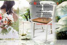 Go Dutch Wedding Flowers / Wedding Flowers Option 1