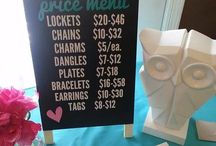 Origami Owl Party Ideas