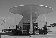 petrol station / stacja benzynowa
