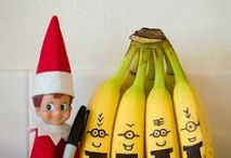Elf On The Shelf / Elf on the Shelf ideas.