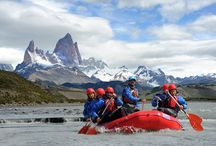 Rafting en El Chaltén - Patagonia / Desciende por rapidos en la Patagonia argentina. El Calafate