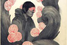 illustration/digital art/animation / Jilian Tamaki, Sam Weber, Cyril Pedrosa,  and more