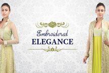 embroidered #Anarkali #jacket