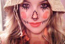 Simple halloween makeup