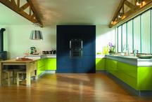 Cuisine Rendez-vous / Vert & Bleu / Cuisine Rendez-vous par Thibault Desombre pour Arthur Bonnet, Coloris Vert & Bleu