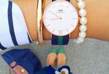 I believe every girl should own a few good watches. DW