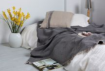 Linen Throws and Blankets