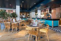 Zizzi South Woodford / Check out the NEW LOOK Zizzi South Woodford! Situated on the busy high street, our restaurant in South Woodford wows customers with an open kitchen and impressive pizza throwing chefs. The local team know the area and have created a very personal, friendly atmosphere. Ideal for lunch or dinner and situated centrally next to the cinema.