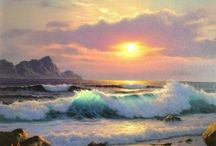 Zee schilderen