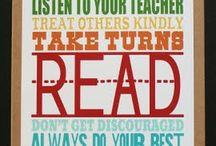 back to school - teacher appreciation / by Anna Wells